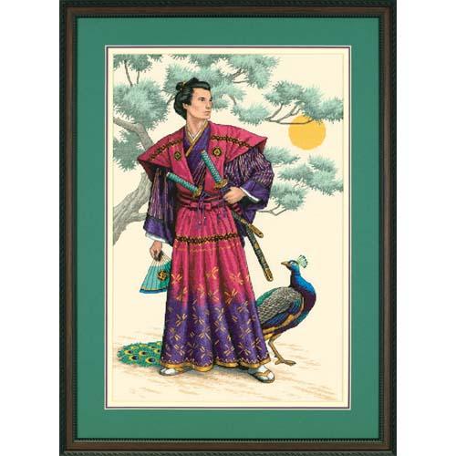 Скачать схему самурай вышивка