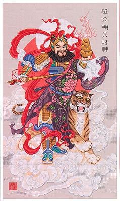 Chinese God Of Wealth (Tsai Shen Yeh) by PINN