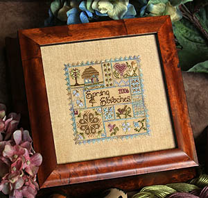Spring Stitches by Jeannette Douglas Designs