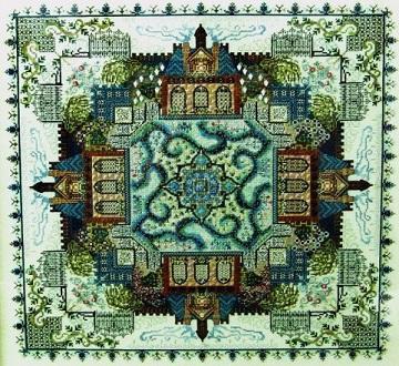 Victorian Garden Mandala  by Chatelaine