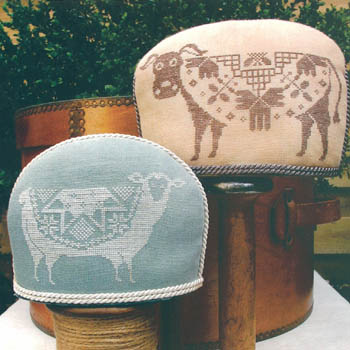 Quaker Cow And Sheep by Workbasket
