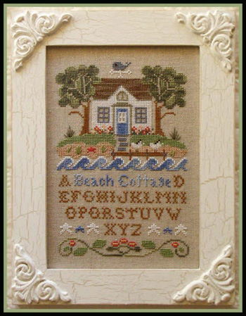 Beach cottage by Country Cottage Needleworks