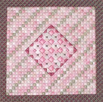 Rose Quartz by Needle Delights Originals