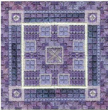 Color delights-Violet by Needle Delights Originals