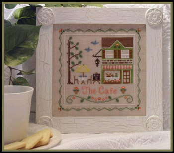 The cafe by Country Cottage Needleworks