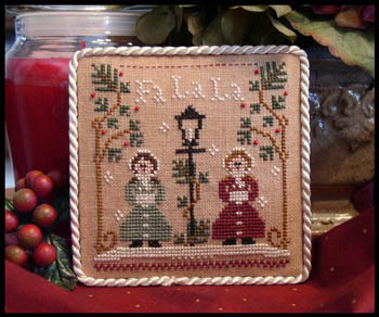 Fa lala ornament by Little House needleworks
