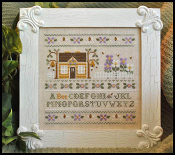 A Bee C Sampler by Country Cottage Needleworks