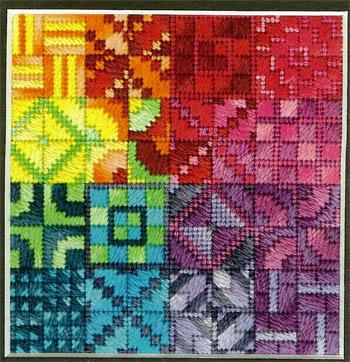 Color Delights-Rainbow by Needle Delights Originals