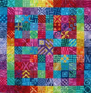 Amazing color by Needle Delights Originals