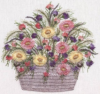 Daisy Basket by EdMar