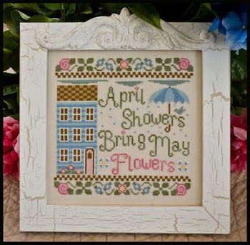 April showers by Country Cottage Needleworks