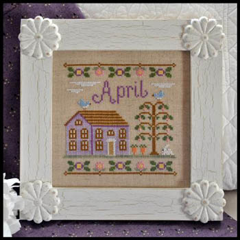Cottage of the Month-April by Country Cottage Needlework