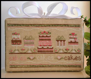 Party cakes by Country Cottage Needleworks