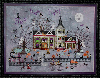 Croaking Toad Manor by Praiseworthy Stitches