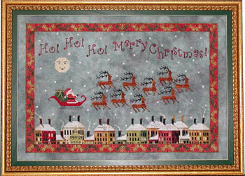 Santa's Midnight Flight by Praiseworthy Stitches