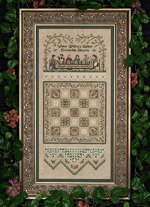 Quilting Bee sampler by The Victoria Sampler
