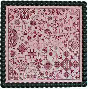 Simple Gifts-Courage by Praiseworthy Stitches
