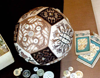 The Quaker Button Ball by Amaryllis Artworks