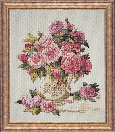 China roses by Design Works