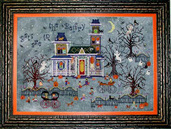 Darkwing Manor by Praiseworthy Stitches
