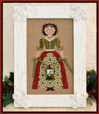 My Lady At Christmas by Little House Needleworks