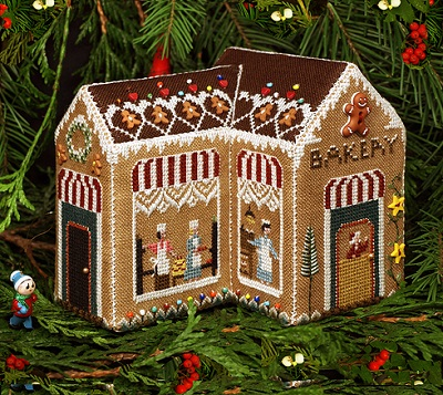 Gingerbread Bakery by The Victoria Sampler