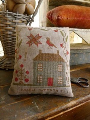 Redbud Cottage Pinkeep by Stacy Nash Primitives
