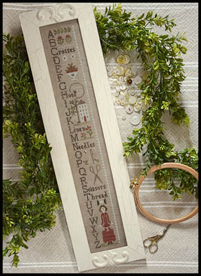 Needlework ABC's (w/threads) by Little House Needleworks