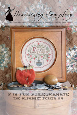 P Is For Pomegranate by Heartstring Samplery