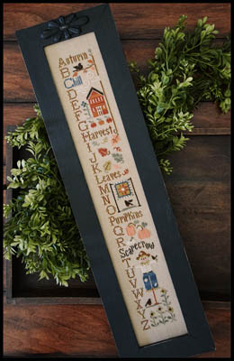Autumn ABC's by Little House Needleworks