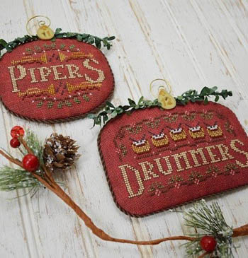 Pipers and Drummers-12 Days by Hands On Designs