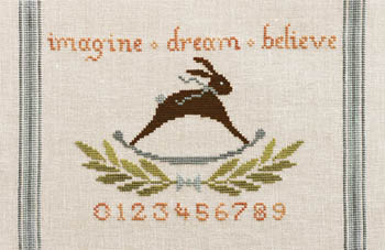 Imagine Dream Believe by Artful Offerings