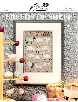 Breeds Of Sheep by Amaryllis Artworks