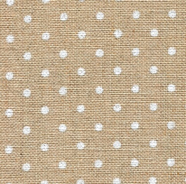 Petit Point Raw Natural/White,36 ct Edinburgh