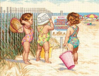 Beach Babies-35216- by Dimensions
