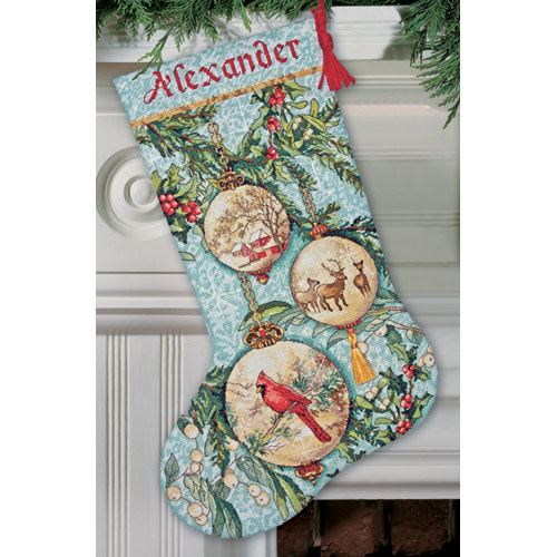 Enchanted Ornament Stocking-70-28854- by Dimensions