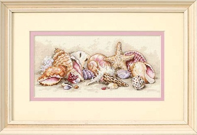 Seashell Treasures-65035- by Dimensions