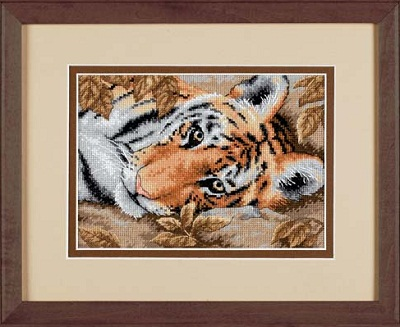 Beguiling Tiger-65056- by Dimensions