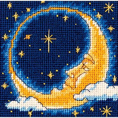 При луне схема вышивки крестом