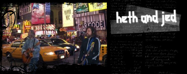 Heth & Jed NYC band