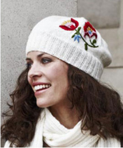 Woolly Hat - White  by Permin