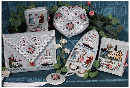 Mystic Needlework Smalls by The Victoria Sampler