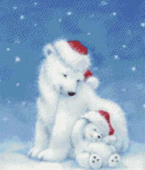 Polar Bear Holidays-9805-  by Kustom Krafts