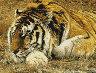 """""""Raja"""" Siberian Tiger-9807-  by Kustom Krafts"""