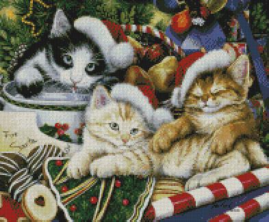 Meowy Christmas-9812- by Kustom Krafts