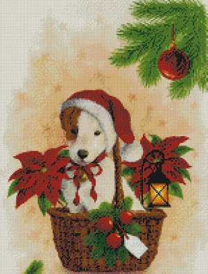 Puppy Santa-9813- by Kustom Krafts