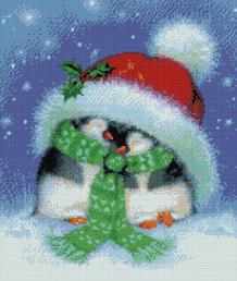 Holiday Penguins-9821- by Kustom Krafts