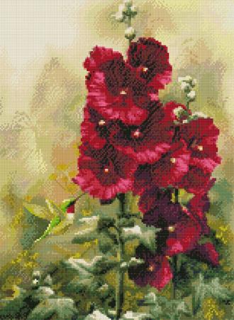 Hummingbird Flowers-9941- by Kustom Krafts