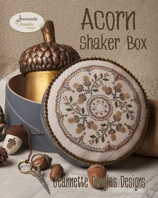 Acorn shaker box by Jeanette Douglas Designs
