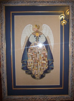 Angel of Love-stitched by Marina